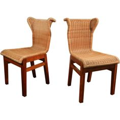 chairs attribued to Louis Sognot