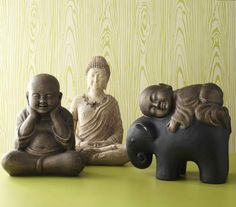 Make your garden more tranquil with Pier 1 Monks