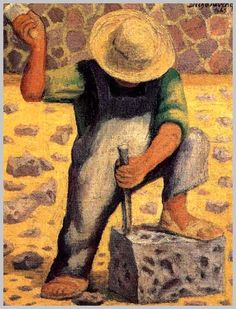 Rivera by Frida Kahlo 1937 oil on masonite This is part two of a two-part post on the life and works of Mexican artist Diego Rivera Diego Rivera Art, Diego Rivera Frida Kahlo, Statues, Latino Art, Frida And Diego, Mexico Art, Mexican Artists, Popular Art, Museum Of Modern Art