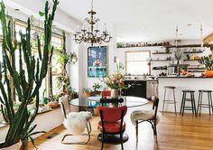 The Home of Emily Katz in The New Bohemians