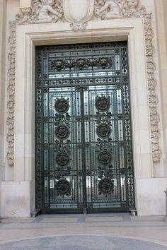 Le Grand Palais 4 Door, Paris by fearless-frog.deviantart.com on @deviantART