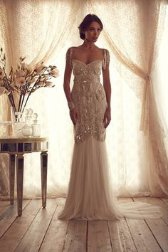 I always thought I'd go with a Vera Wang wedding dress, but idk.. this dress is AMAZING.  Gossamer Collection - Anna Campbell designer bridal fashion Melbourne