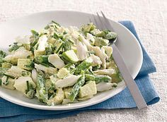 Krebssalat mit grünen Bohnen