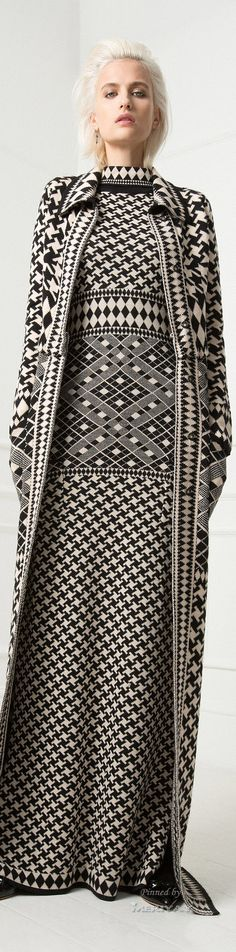 Temperley London Resort 2015.  Don't know what I think of the dres/jacket but Love the fabric.