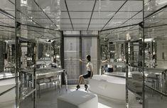 Luxury Suite Bathroom at Le Royal Monceau Raffles Hôtel, Paris. Designed Philippe Starck