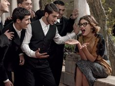 Dolce & Gabbana Fall Winter 2013-2014 Eyewear Campaign | FashionMention