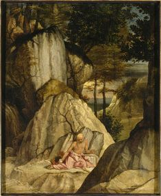 Saint Jerome / Saint Jérôme / San Jerónimo // s. XVI // Lorenzo Lotto // #fasting #penitence #prayer #SacredScriptures
