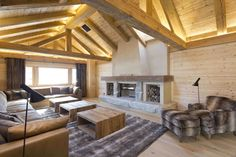 View full picture gallery of Residences De Rougemont Chalet Interior, Interior Design, Mountain Cottage, Holiday Apartments, Cottage Homes, Pergola, Design Inspiration, Outdoor Structures, Patio