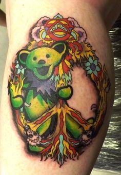 34-grateful dead tattoos