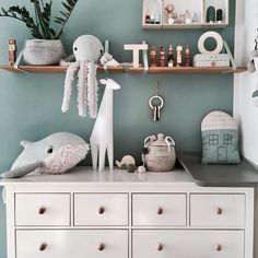 Changing station inspiration from ? Our Giraffe ? lamp makes the perfect nightlight and our big stuffed toys the best of friends ? Tap for all the details. We ship worldwide.