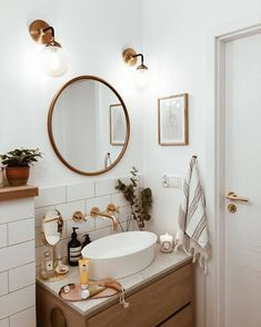 Fly On The Wall, Bathroom Inspiration, Bathroom Ideas, Mobile Photography, Lightroom Presets, Minimalism, Desktop, Mirror, Furniture