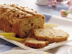 Pear-Rhubarb Quick Bread You can sub apples for pears