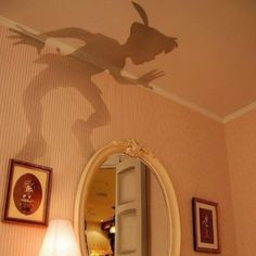 cool idea for kid's room