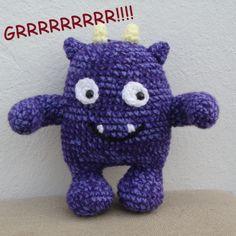 Monstruo al crochet