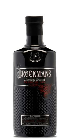 Brockmans Intensely Smooth Gin. Reviews and Flavor Spiral included.