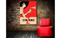 Cinzano - $399.00 | United Artworks | Original art for interior design, buy original paintings online