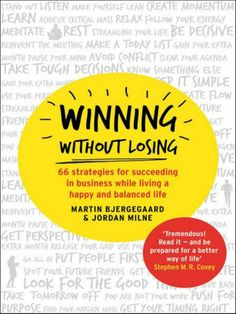 London Evening Standard - WWL Featured: Best Back to Work Books!  #WinningWithoutLosing #WWL #MartinBjergegaard #JordanMilne www.winningwithoutlosing.org