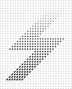 Beautiful Bitmaps — Typographic Print on Behance Graphic Design Typography, Graphic Prints, Branding Design, Pattern Design, Print Design, Art Print, Shadow Art, Sketch Design, Layout