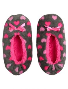 Hearts Slippers