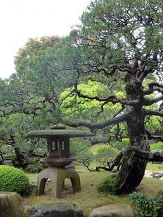 Japanese Stone lantern.