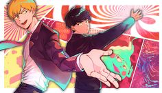 1919x1105 computer wallpaper for mob psycho 100