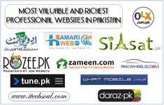 10 Most Valuable And Richest Professional Websites In Pakistan Year 2015