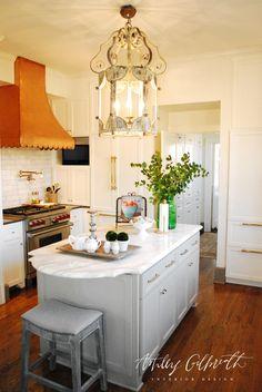 Ashley Gilbreath Interior Design - Selma, Alabama Kitchen Renovation