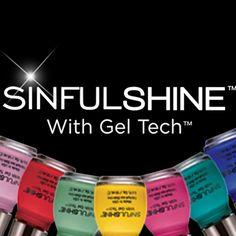 Sinful Shine Nail Polish with Gel Tech