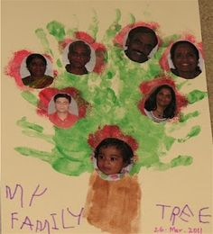 Family Tree ideas for kids All About Me Activities, Preschool Activities, School Tool, School Stuff, Craft Projects For Kids, Craft Ideas, Preschool Crafts, Crafts For Kids, Family Genealogy
