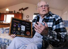 My Uncle Jesse - Veteran Jesse Moses of Burley, Idaho talks about being a B-24 bombardier during World War II.