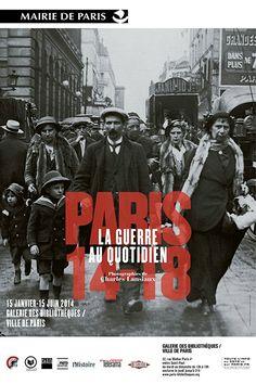 Exposition « Paris 14-18, la guerre au quotidien. Photographies de Charles Lansiaux »