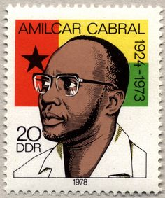 Amilcar Cabral Stamp... Country Hero