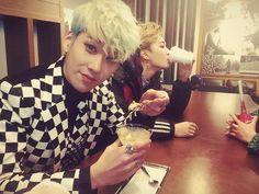 HyunSeong e JeongMin