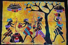 African Art African Batik African American by Boriquahafrikanah, $20.00