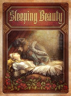 Probably one of my least favorite fairy tales, but it's still a classic...Sleeping Beauty