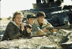 """Patrick Swayze, C. Thomas Howell and Charlie Sheen from """"Red Dawn"""""""