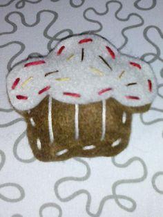 Cupcake di panno lenci