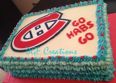 Montreal Canadian Hockey Theme for employee at TD.  GO HABS GO