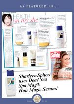 Sharleen Spiteri uses Spa Magik Hair Magic Serum!