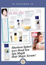 Sharleen Spiteri uses Spa Magik Hair Magic Serum!
