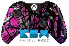 Muddy Girl Camo Custom Modded Xbox One Controller