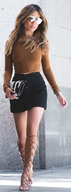 Amazing Summer Outfits Skirt Ideas 12
