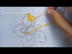 Hand Embroidery, Easy Flower Embroidery with beads, New Flower Embroidery Design Embroidery Leaf, Basic Embroidery Stitches, Hand Embroidery Videos, Hand Embroidery Flowers, Embroidery Flowers Pattern, Embroidery Patterns Free, Hand Embroidery Designs, Brazilian Embroidery, Beads
