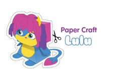 Lulu Paper craft - Free Fun Party Popples Printables and Activities | SKGaleana