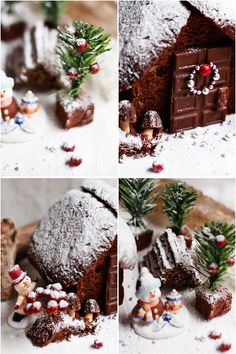 she who eats: my alternative little gingerbread house