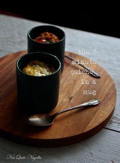 The 5 Minute Quiche in A Mug!