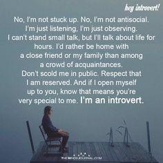 No, I'm Not Stuck Up. I'm Not AntiSocial - https://themindsjournal.com/no-im-not-stuck-im-not-antisocial/