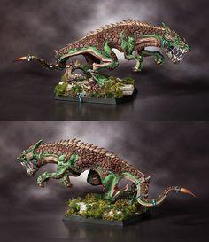 Lizardmen Carnosaurus