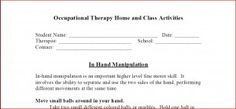 Printable home program suggestions for in-hand manipulation.