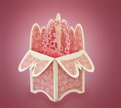 Enchanted Fairy Box Card DIGITAL download svg scan n cut cricut studio by MySVGHUT on Etsy